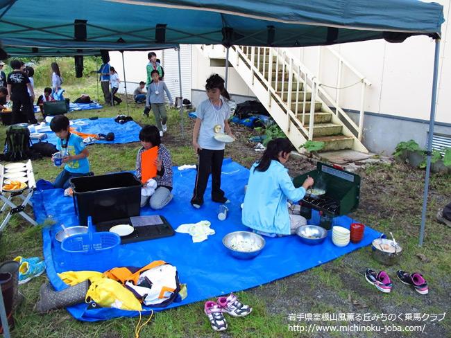 栗駒自然学校カウボーイキャンプ2012 風薫る丘みちのく乗馬クラブ