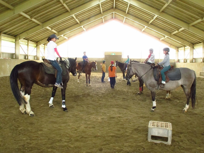 くりこま高原自然学校カウボーイキャンプ2012 風薫る丘みちのく乗馬クラブ