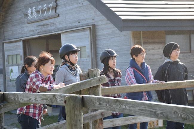 岩手県室根山 風薫る丘みちのく乗馬クラブ