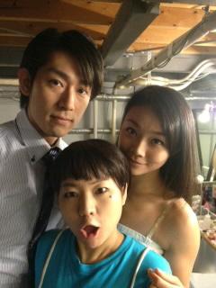 桜井さんとユウヤと、夏子。