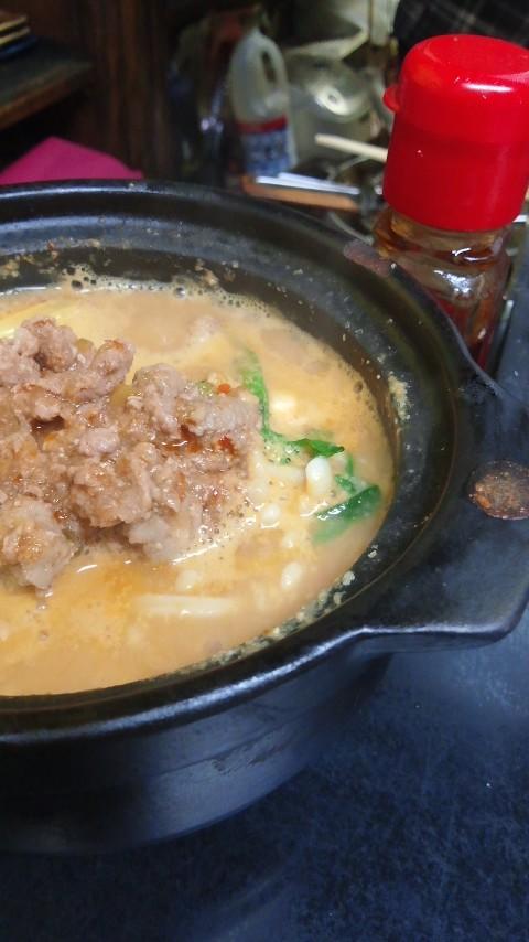坦々豆腐鍋!