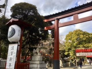 平塚八幡宮。