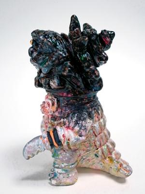 立体怪獣イラストターバンリザードの画像