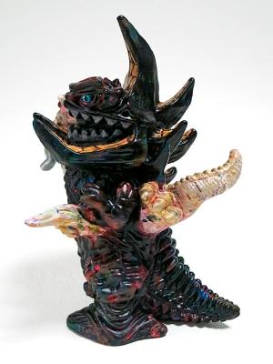立体怪獣イラストガボギラスの画像