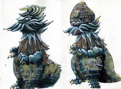 芋怪獣 Taroのカラーデザイン画像