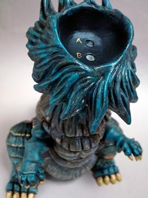 芋怪獣 Taro頭部連結部画像