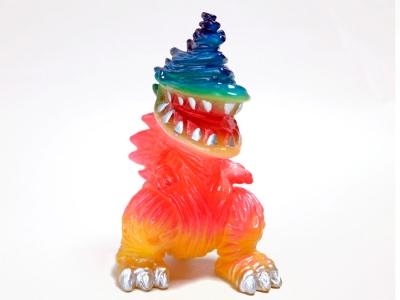 One up. 怪獣ソフビ ギザラ Tropical の画像