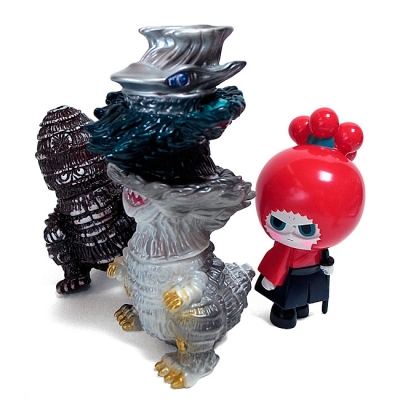 里芋怪獣ゲビラと切之助の画像