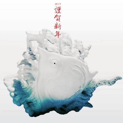 波に千鳥 海獣kaijuナミチドラの画像