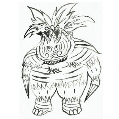 南国怪獣 ガガオノミンの画像
