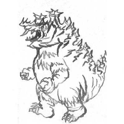 カッター怪獣 オルセビレンの画像