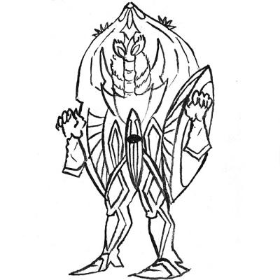 冷凍宇宙人 クリスタール人の画像
