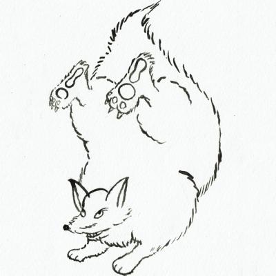尻尾怪獣 フォックステイルの画像