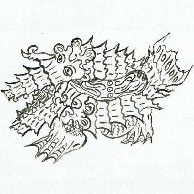 不安定次元海獣オドロギラの画像