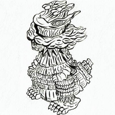 里芋怪獣 ゲビラドックの画像