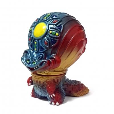 宇宙魚人ギョグラ マウント工房第3期彩色版の画像