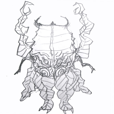 gumtaro怪獣宇宙昆虫ガリディエ人の画像