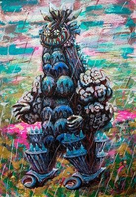 水神雨降らしの画像