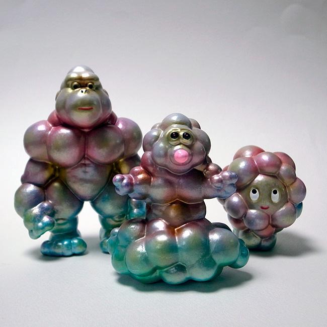 バブルゴリラ、ポンジー、バブールの画像