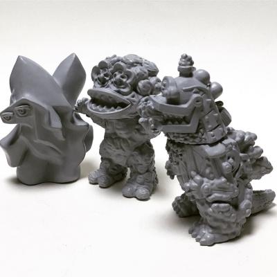 ロコラウメモンプルブルー人原型の写真