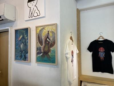 gumtaroキャンバス画ギザラとアマビエトランスポップの画像