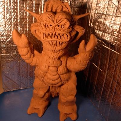 怪獣クラブン原型正面の画像