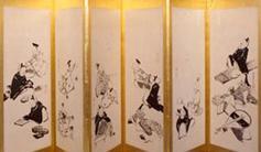 The Thirty-Six Immortal Poets by Ito Jakuchu _edo