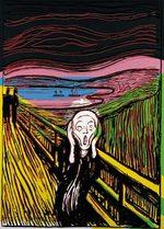 Andy Warhol Skrik 1984