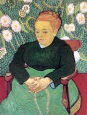 ゴッホ 『オーグスチン・ルーランの肖像』 ボストン美術館