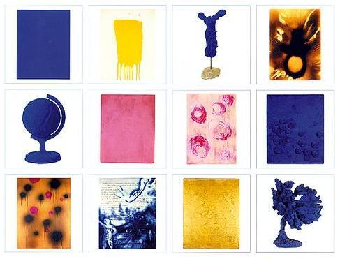 Yves Klein: 2006 Wall Calendar