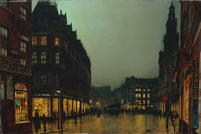 © Leeds Museums & Art Galleries (City Art Gallery) 「Boar Lane, Leeds, 」(1881)