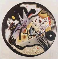 ブラック サークル 「In The Black Circle, 1923 (Dans le Cercle Noir) 幾何学的抽象時代の作品だ。