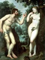 Peter Paul Rubens  1599年 Adam and Eva in Paradise(Rubenshuis)