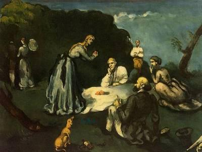 paul cezanne xx luncheon on the grass 1870-1871