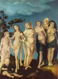 The Seven Ages of Woman - Hans Baldung Museum der Bildenden Künste, Leipzig ライプツィッヒ,造形美術館