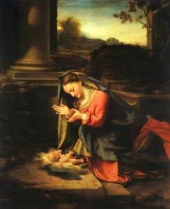 Correggio, Madonna and Child