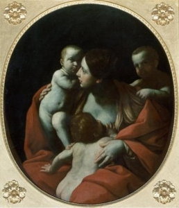 Guido Reni, Charity, 1607