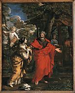 Pietro da Cortona, Abraham and Hagar, c.1640