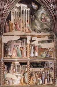 Taddeo Gaddi Baroncelli Chapel
