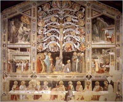 Santa croce Taddeo Gaddi