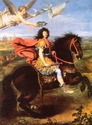 Louis XIV devant Maastricht, Pierre Mignard, 1673