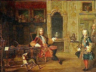 Anonyme, Le cabinet du Grand Dauphin au château de Versailles