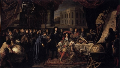 Colbert Presenting the Members of the Royal Academy of Sciences to Louis XIV