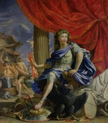 Louis XIV (1638-1715) as Jupiter Conquering the Fronde
