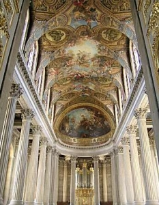The chapel within the Palace of Versailles