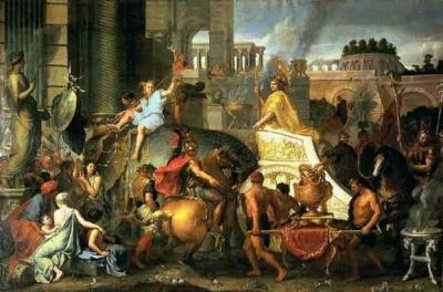 アレクサンドロス大王のバビロニア入城