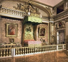 Louis XIV bedroom, Versailles