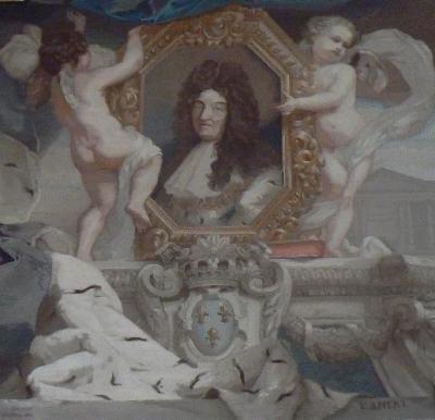Louis XIV âgé, musée du Louvre, Paris