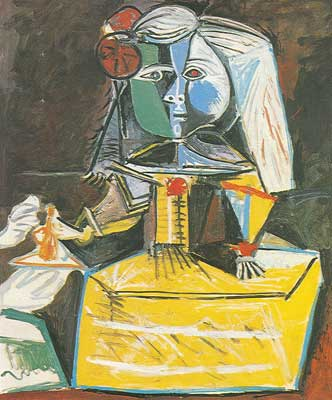 Las Meninas, painted 1957