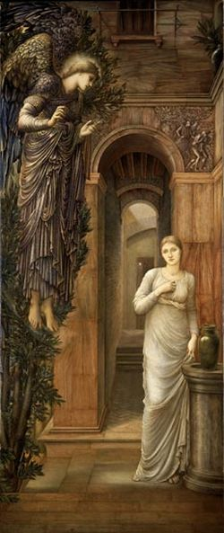The Annunciation Lady Lever Art Gallery